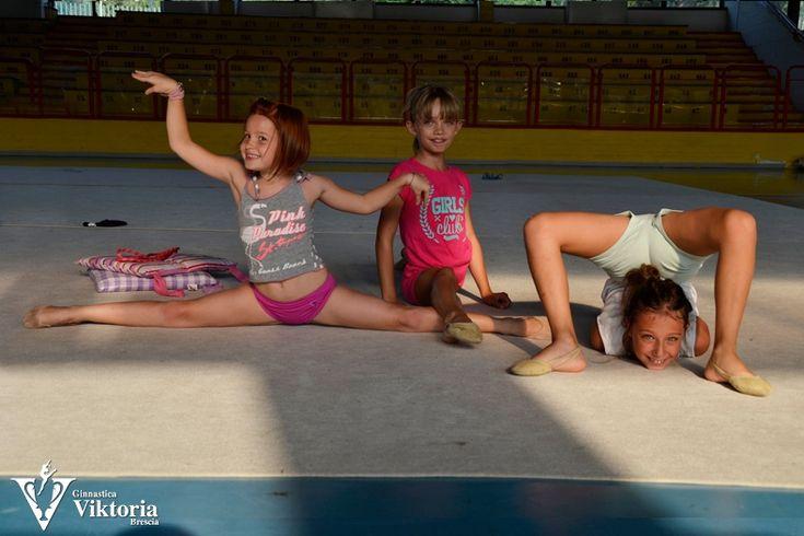 Fotografie allenamenti estivi 2013 | A.S.D. Ginnastica Viktoria Brescia