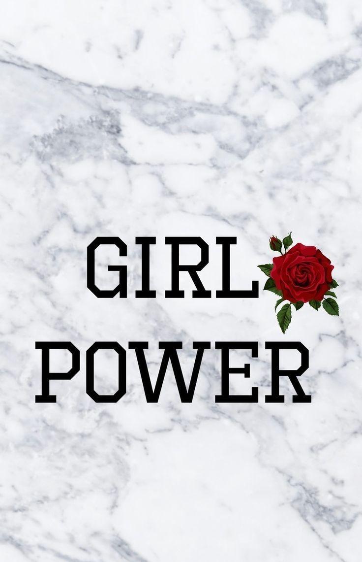 Girl Power Handyhintergrund Hintergrundbilderiphone Hintergrundbildertumblr Tumblrhintergrund Power Wallpaper Tumblr Wallpaper Aesthetic Iphone Wallpaper