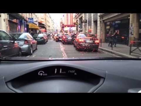New Nissan LEAF Test Drive in Paris