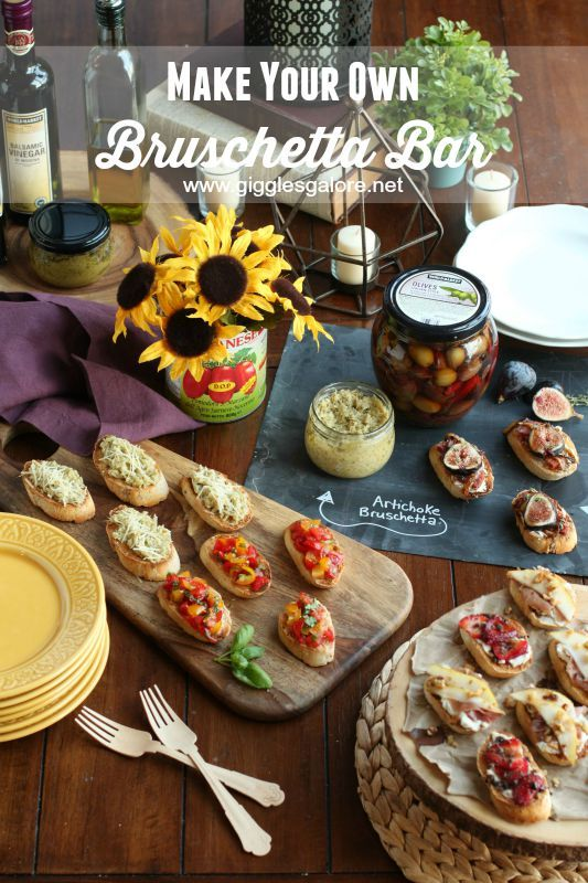 Entertaining: Make Your Own Bruschetta Bar