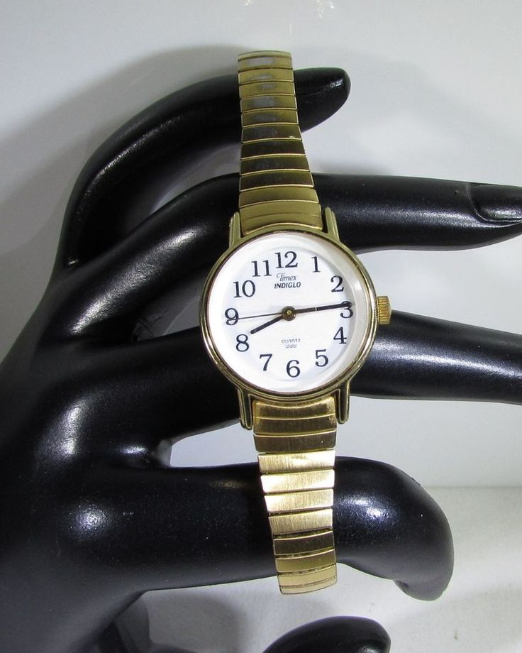 Timex Indiglo Ladies Watch Quartz Battery Powered with