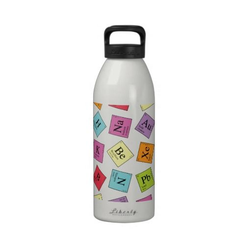 Periodic Elements Water Bottles