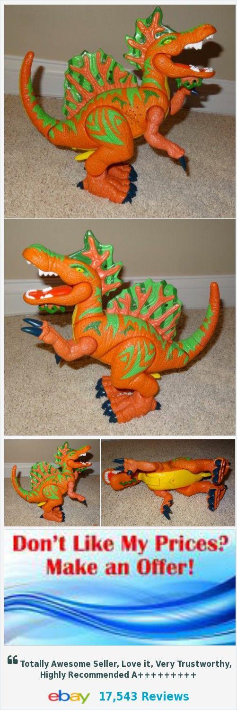 Imaginext Fisher Price Mattel Orange & Green Dinosaur Spinosaurus Roars SL | eBay https://www.ebay.com/itm/352189466724
