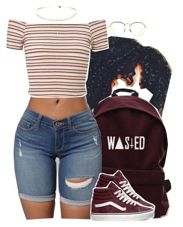 """10.30"" by trinityannetrinity ❤ liked on Polyvore featuring Linda Farrow, Miss Selfridge and Vans"