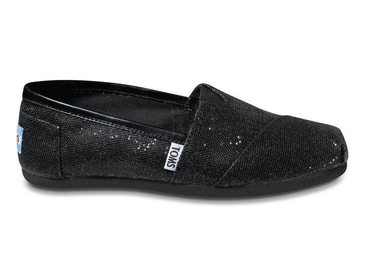 TOMS with glitter! #gift
