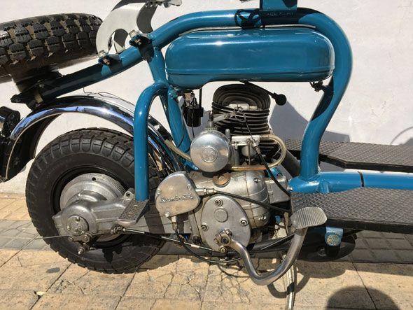 Moto Siambretta 125 de Lujo año 1958.