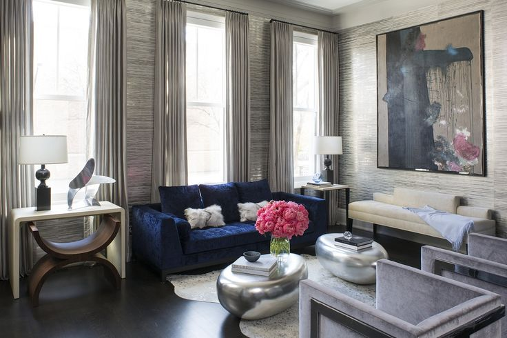 Urban Elegance Living Room Great Room Living Contemporary Modern Transitional by Wendy Labrum Interiors
