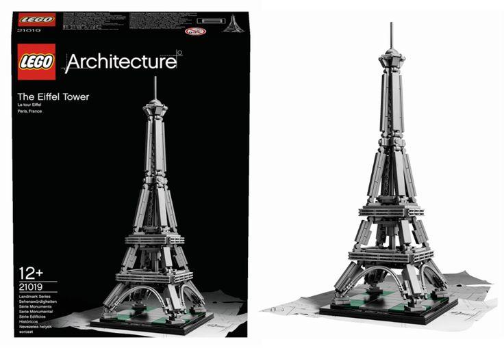 A coleção da LEGO® Architecture cresce a olhos vistos. Temos 1 set Lego Architecture | Torre Eiffel para vos oferecer.