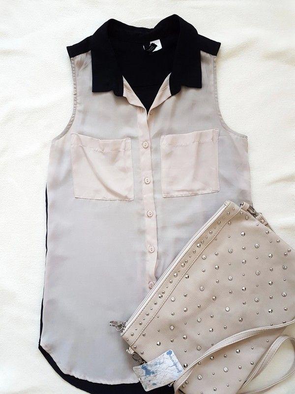 5a8d755f1de11e Kurzarmigeshemd von H&M - Tasche unter meinen Artikeln #hemd #bluse  #elegant #eleganteshemd