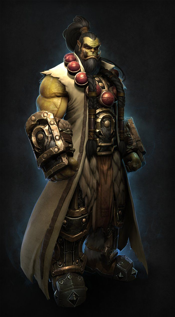 Warcraft thrall kevin lee on artstation at http www - World of warcraft images ...