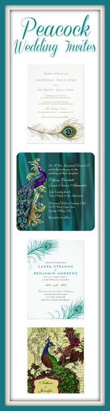 101 Unique Peacock Wedding Invitations #wedding