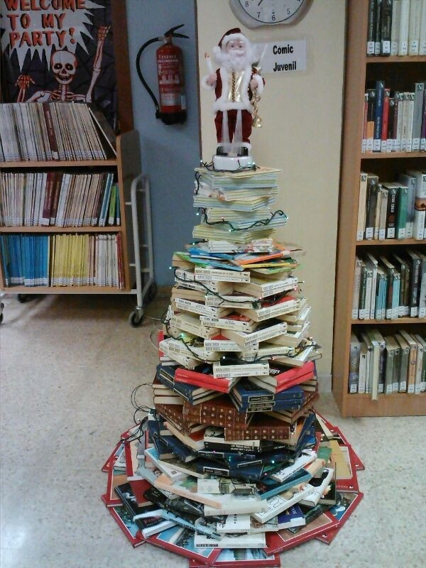BPM Zaragoza, Spain. Biblioteca de Casetas. Actividades de navidad