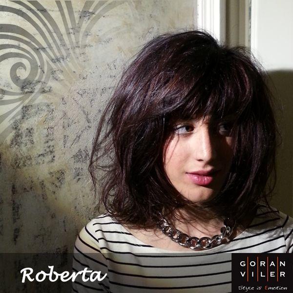 """Roberta: volumi glamorous per un rosso morbido (marzo 2014) - Aiutaci a scegliere la cliente del mese mettendo un """"mi piace"""" sulla foto che preferisci :) https://www.facebook.com/GoranVilerHairSpa"""