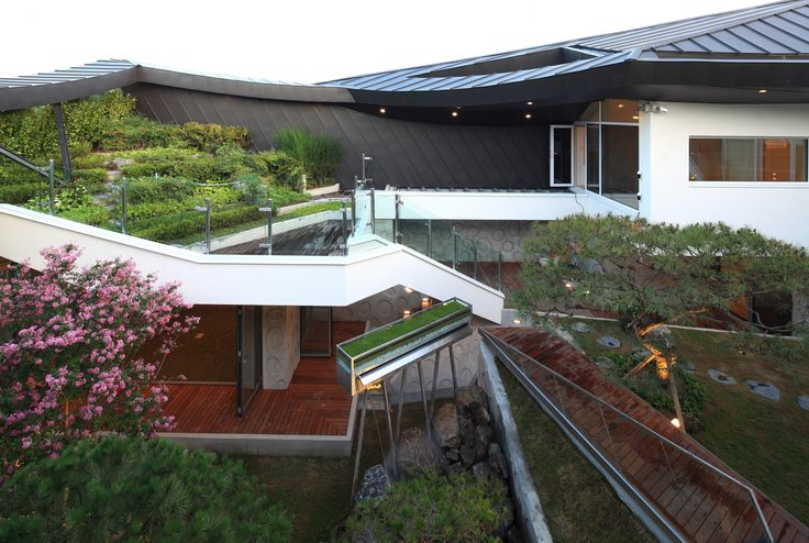 Culturally Modern Ga On Jai Residence in South Korea by IROJE KHM Architects | Wave Avenue