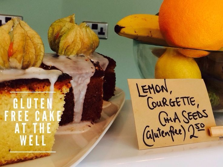 Lemon Courgette Cake and Bacon Sarnies at The Well | 15 Gluten-Free Treats You Need To Eat In Leeds