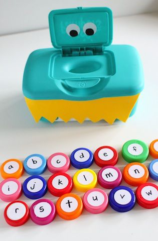 Don't throw out those containers! You can turn them into toys and organizational tools. Get 8 ideas here.