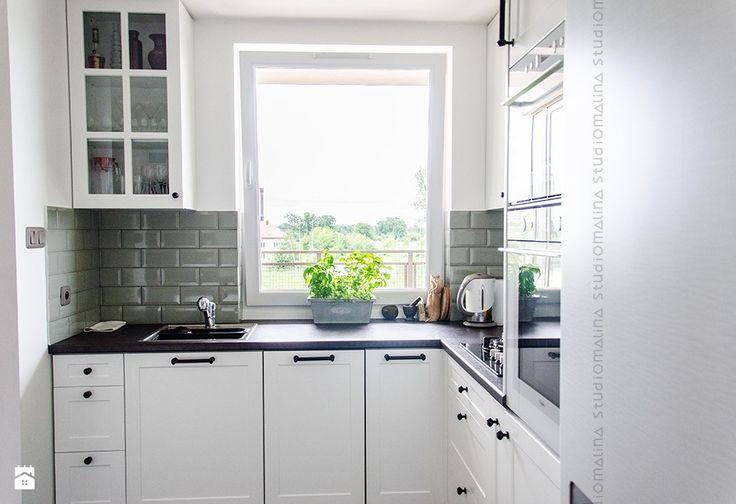 Zdjęcie: Kuchnia styl Skandynawski - Kuchnia - Styl Skandynawski - Studio Malina – Architekci & Projektanci wnętrz