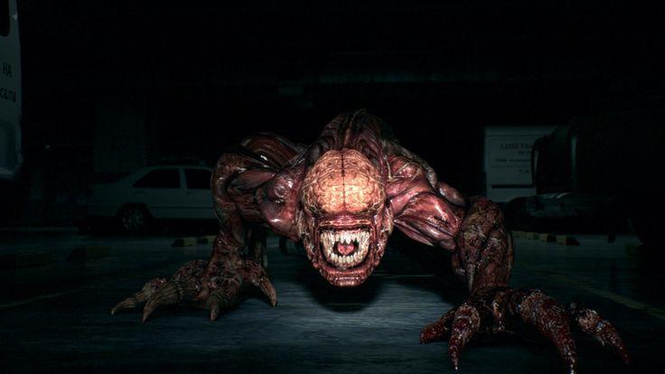 Resident Evil Damnation - Licker