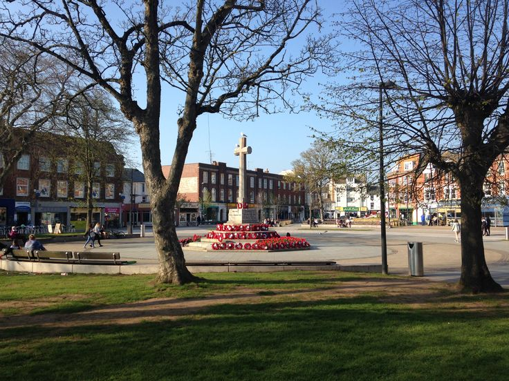 Exmouth town square
