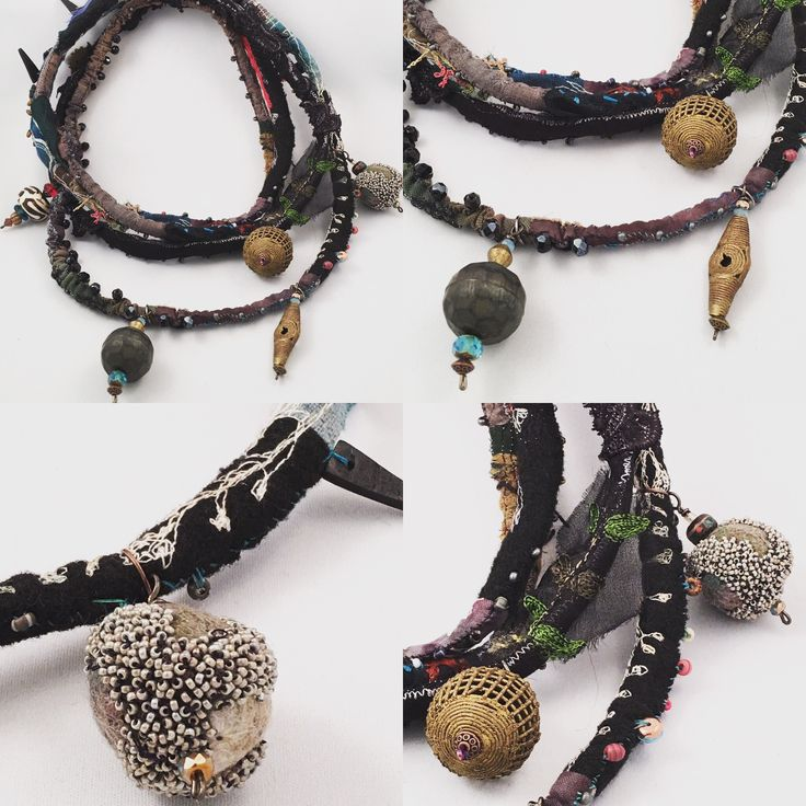 Gordana Brelih...beaded necklace