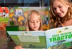 Explore the Discovery Zone at the John Deere Pavilion.
