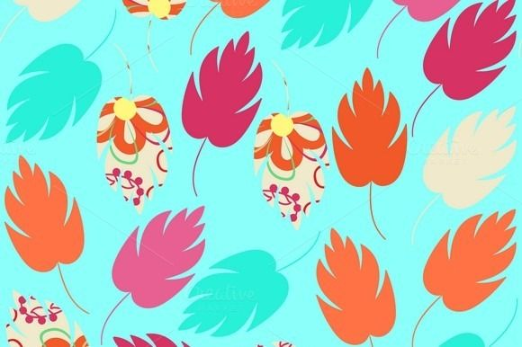 #floral #ornament #pattern #flowers #seamless #pattern #colorful #abstract #ornate #summer #spring #garden #leaf #leaves #tile #flowers #background