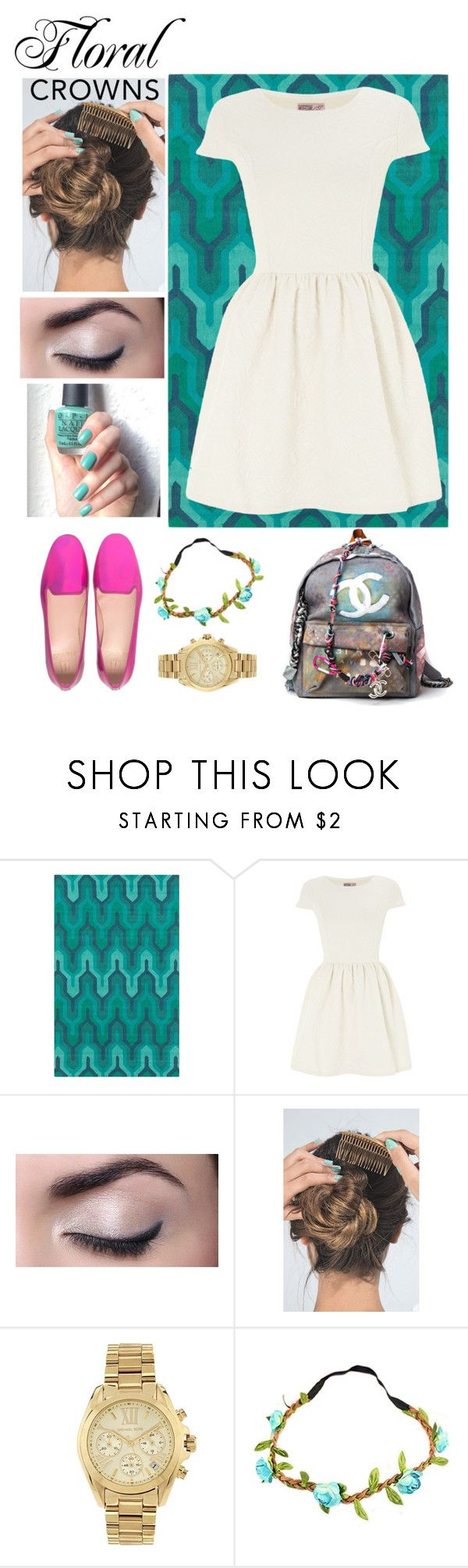 """""""Untitled #29"""" by valerialeonetty on Polyvore featuring Belleza, Surya, Neon Rose, Pretty Ballerinas, Luv Aj, OPI y Michael Kors"""