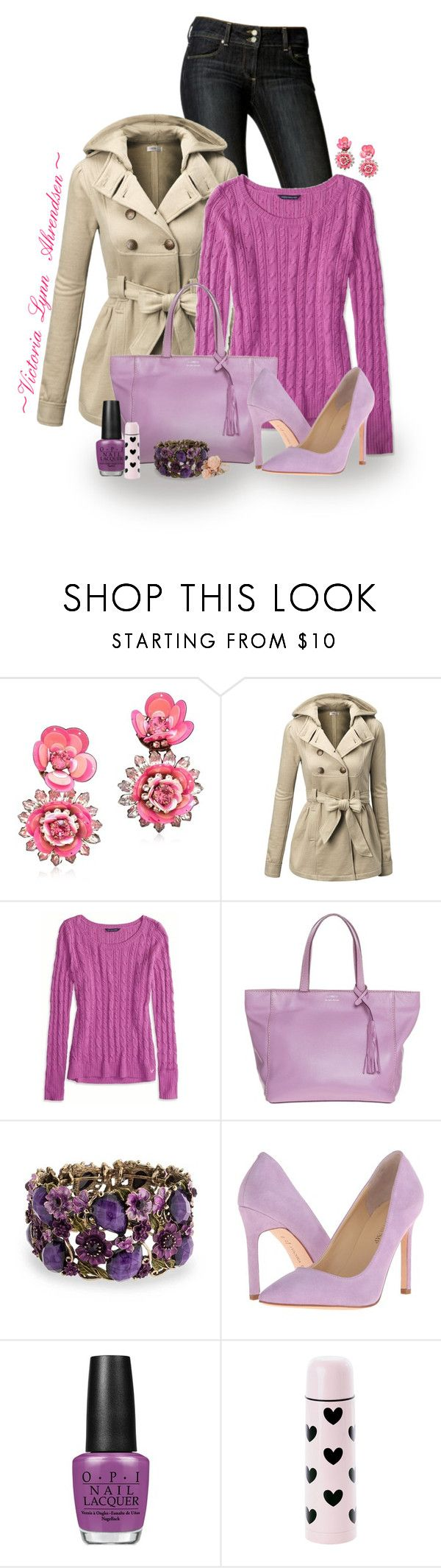 """""""Outfit Set #5! :-)"""" by vahrendsen1988 ❤ liked on Polyvore featuring Paige Denim, Shourouk, Doublju, American Eagle Outfitters, Loxwood, Bling Jewelry, Ivanka Trump, OPI and Dorothy Perkins"""