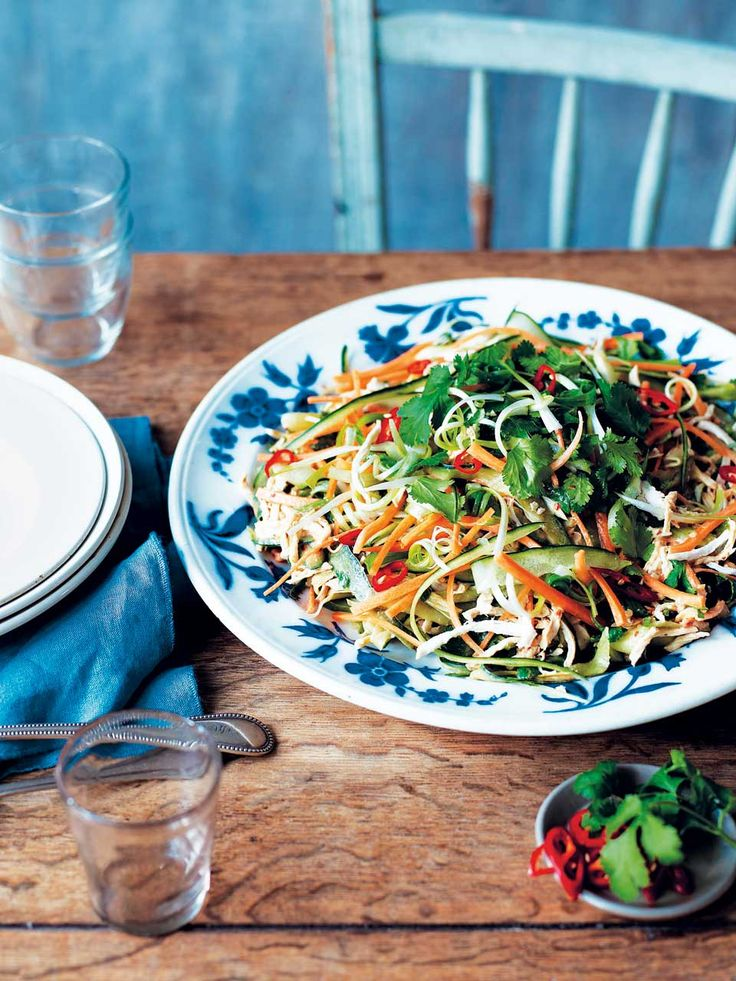 This Chinese-inspired salad recipe is light, zingy and the perfect accompaniment to a picnic or barbecue.