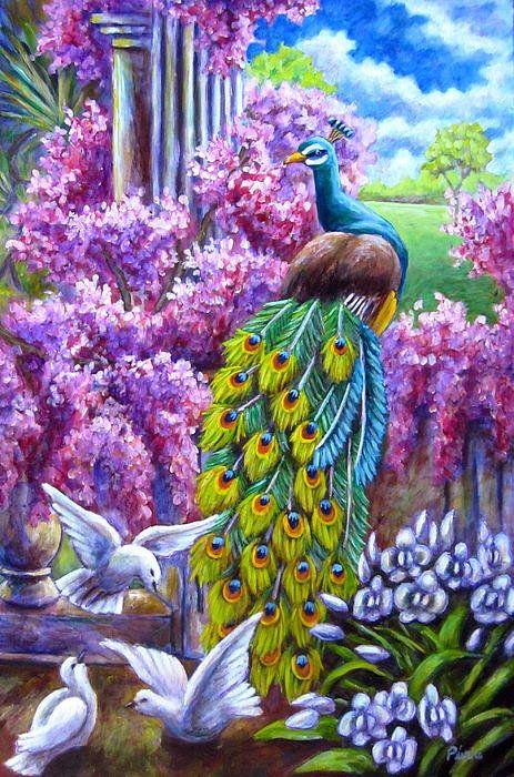Peacock From A Dream ~ by Sebastian Pierre