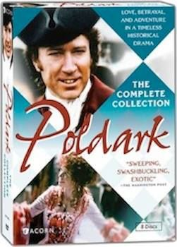 July 25: Double the pleasure of the 12-book series with this DVD collection, Poldark by Winston Graham. http://en.wikipedia.org/wiki/The_Poldark_Novels http://en.wikipedia.org/wiki/Poldark