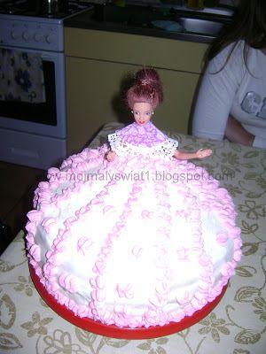 Tort Księżniczka dla dziewczynki - Mama-Kreatywna
