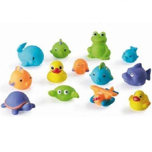 #bebes Babymoov – Juguetes para baño, 12 piezas (A104909)