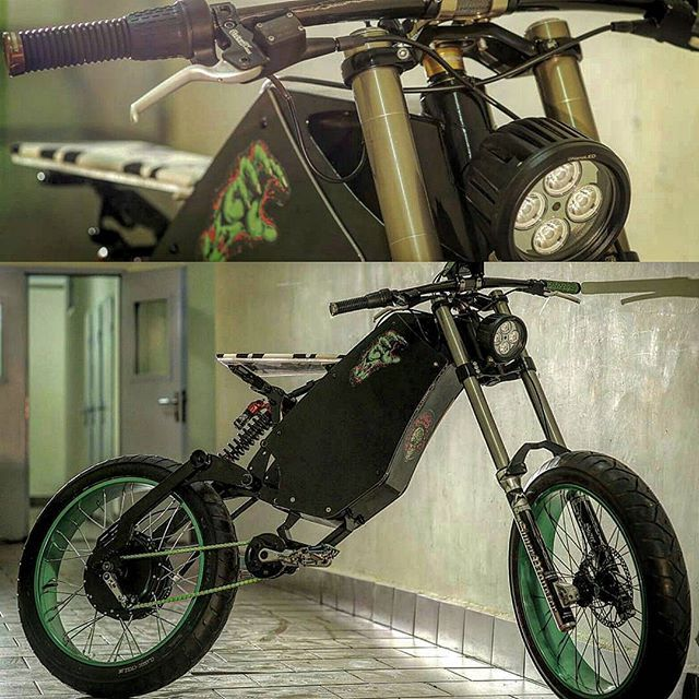 @moskawskoy Damn crazy ebike ! Love the creativity  With our #cromotor  U are a great builder friend... ⚡ . . . . #mtbporn  #electricbicycles #bicicletta #electricbicycle  #ebikes #lovebikes #ebike #bikeculture . .#ecologia #ecco #ecofriendly #ecologico  #customculture #mediaprima  #velocult #fixie #fixieporn  #bikedesign #elettrica #hybridbike #elcykel  #bicielectrica  #electricvehicles #bikeart #fixierider#fixiegang#fixielove