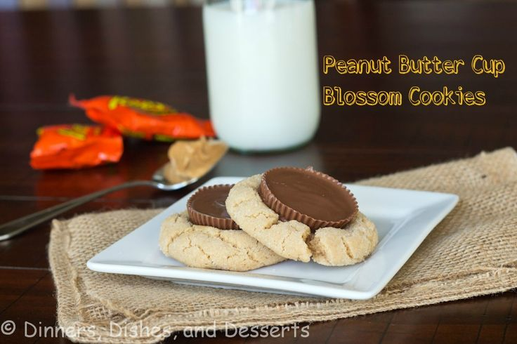 Peanut Butter Cup Blossom Cookies - a new twist on the blossom cookies  #25recipestoXmas @RoxanaGreenGirl | Roxana's Home Baking