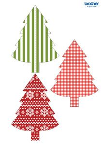 Printable Christmas, Holiday Party Decorations & Supplies | Free Templates – Brother
