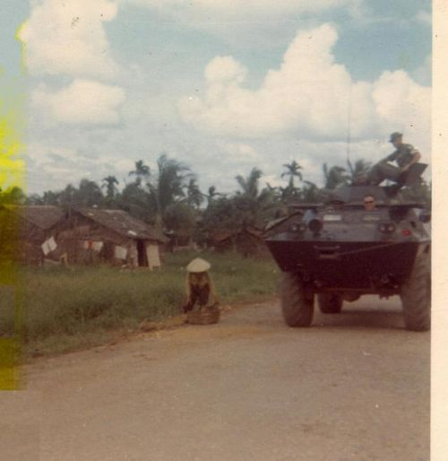 """Dec.1969 Mekong Delta Long Xuyen area 52nd Sig Bn.  ""  Submitted by Sp4. Robert Gouveia."