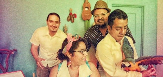 Immigration Status Can't Stop La Santa Cecilia  A very cool place where art and politics meet. La Santa Cecilia's undocumented accordion player, Pepe Carlos, inspires the band's outspoken stand on immigration.