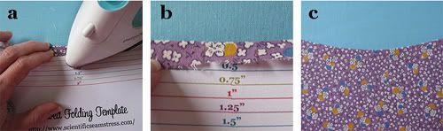 The Scientific Seamstress: Folding Templates (free download)!: Bias Tape, Folding Templates, Printable Bias, Downloads Folding, Crafty Sewing, Hemmings Templates, Free Folding, Free Downloads, Folding Hemmings