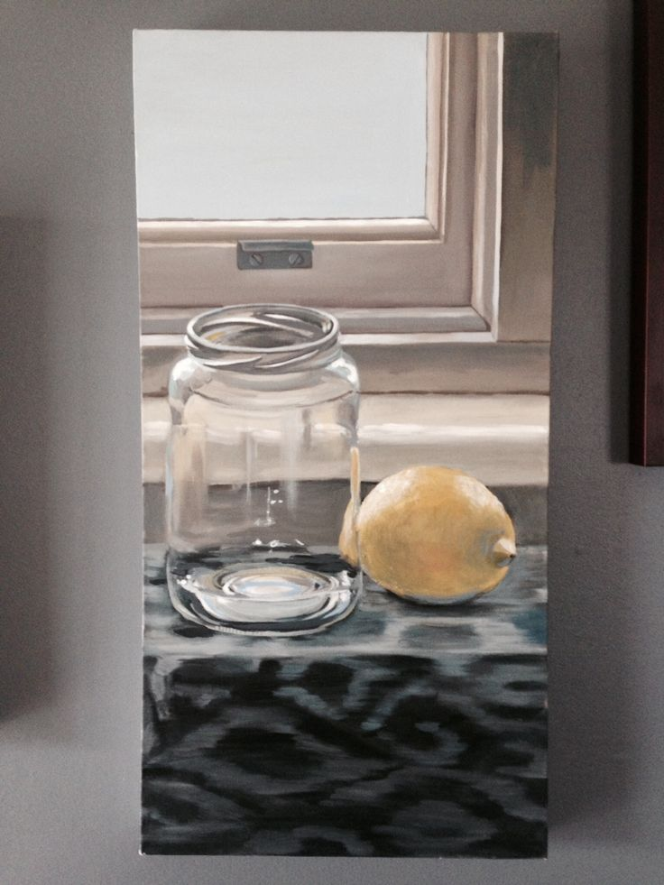 Jar and Lemon