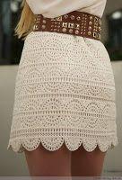 artesanato de Tina: 4 desenhos e padrões para saias