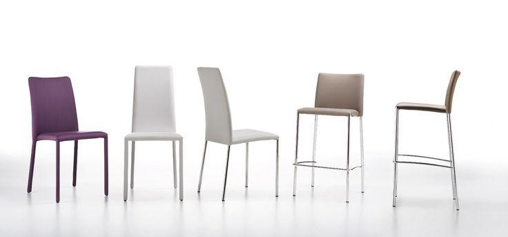 SILVY - elegantní celočalouněné židle, výrobce MIDJ