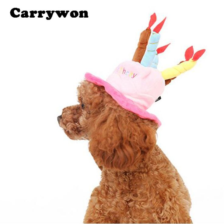 M2cbridge Dog Birthday Cake Candles Hat Christmas Deer Party Costume Free Size