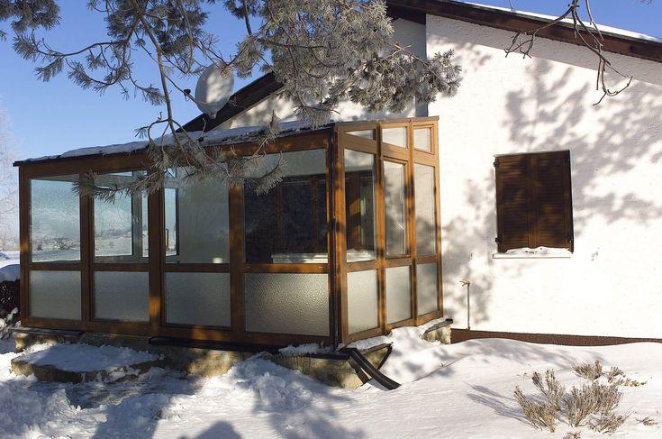 Wintergarten mit Isolierglas