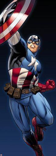Captain America Photomural