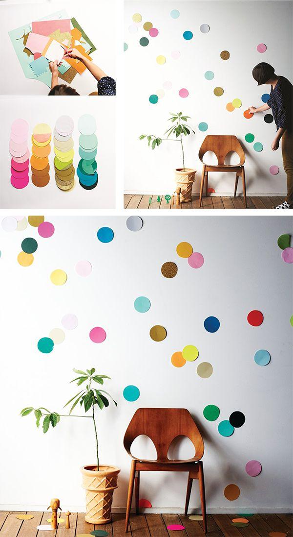 UN CUADRO A TOPOS!!!! tips deco decoracion walls paredes homepersonalshopper