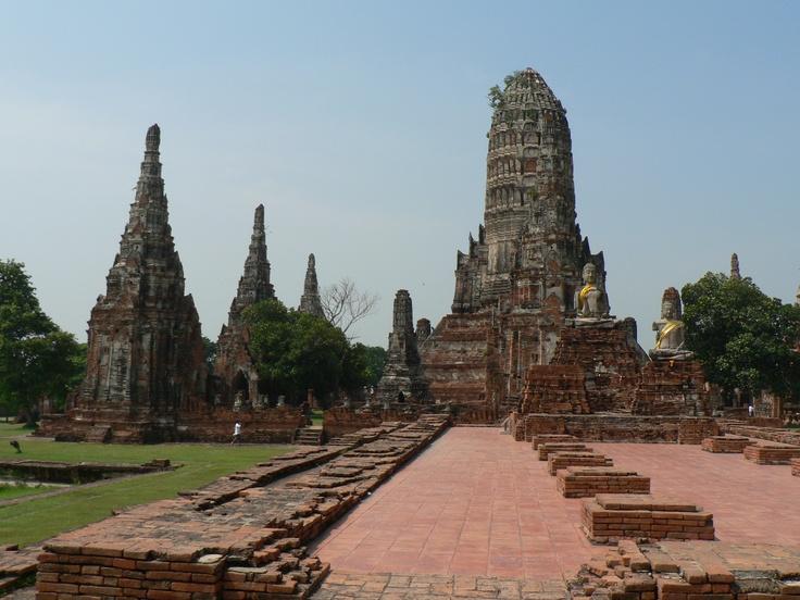 Ayutthaya historical park, Thailand  Places I like to ...