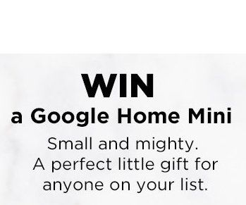 50 will get a Google Home Mini worth $49.00. Limit one prize per household. Login with your iHeartRadio account.