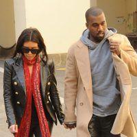 New Pics! Kim Kardashian & Kanye West Resurface in Prague—See Their Wedding Rings!