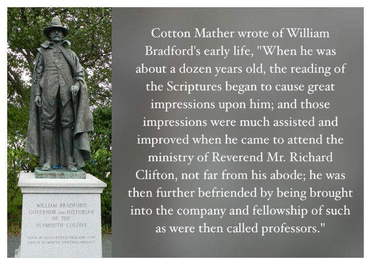 compare william bradford and cotton mather 1800-1700 authors jonathan edwards (1703-1758) 1700-1600 cotton mather (1663-1728) samuel sewall (1652-1730) 1600-1500 william bradford (1590-1657).